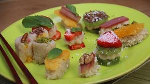 Süße Sushi Rezept