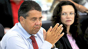 Sigmar Gabriel, Andra Nahles