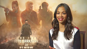 Interview Zoe Saldana