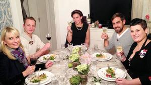 Das Perfekte Dinner, Tag 1