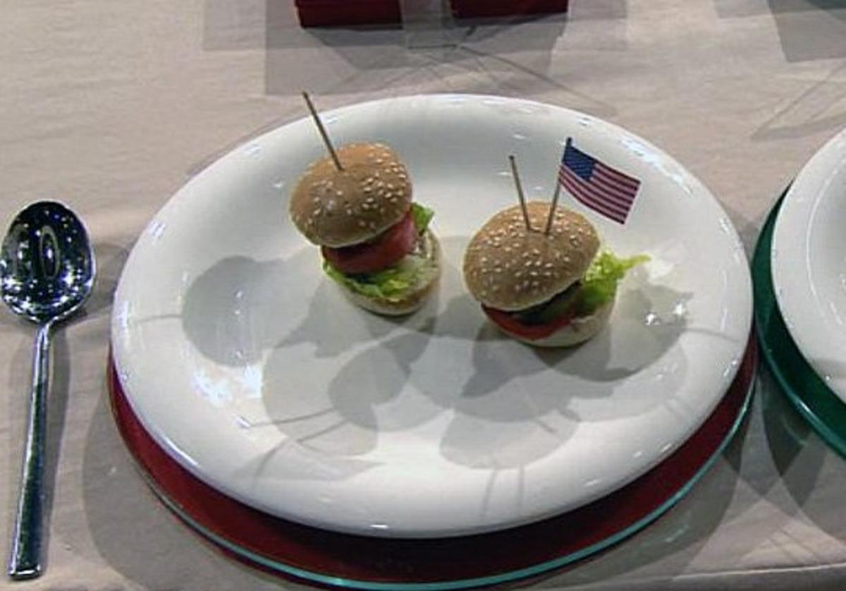 Rezept: Mini-Hamburger (Promi-Team)