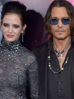 Johnny hat was mit Eva Green
